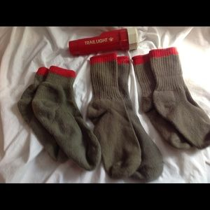 Boy Scouts of America sock & flashlight Lot 4items